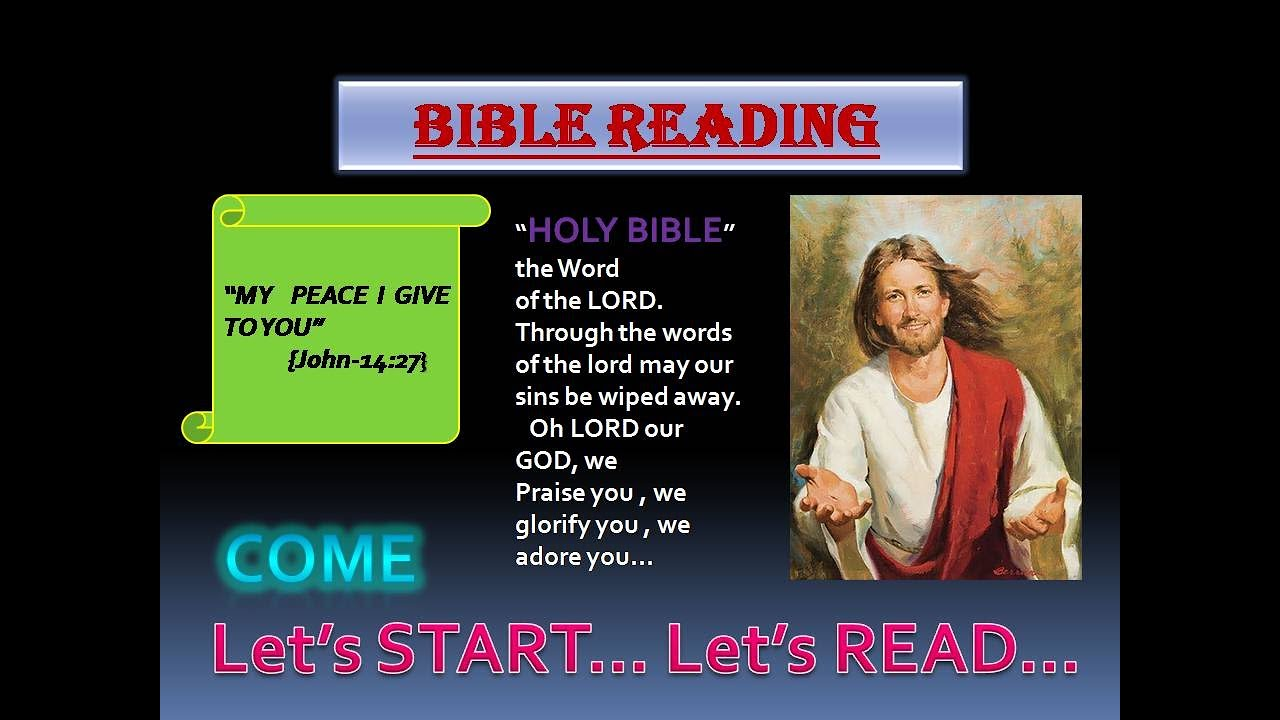 2nd Part-Bible reading challenge || 120 days bible reading ...
