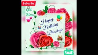 Birthday song sal bhar me sabse pyara (whatsapp status)