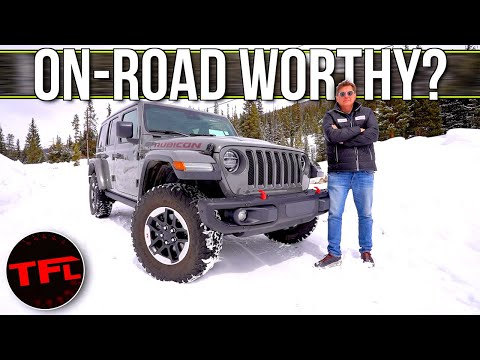 No, The 2020 Jeep Wrangler Does NOT Suck On The Road, And Here's Why!