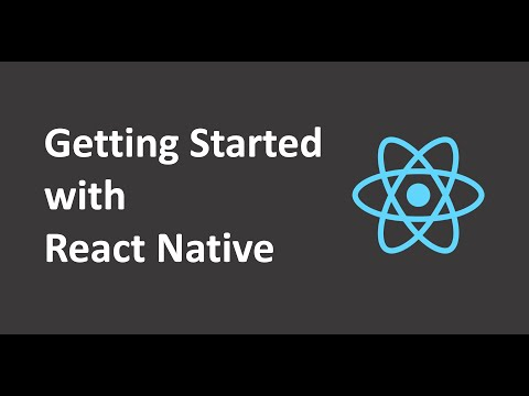 Gettings Started with React Native thumbnail