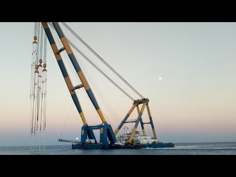 Dairy of seaman #2 how to tow a floating crane