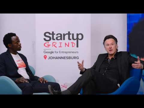 Clive Butkow (Grotech VC) at Startup Grind Johannesburg