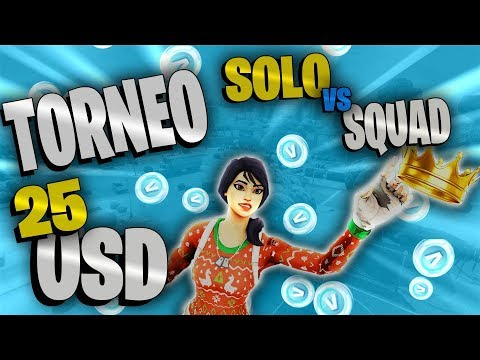 Torneo Solo v.s Squad ! 25 Usd Card Ps4 EU