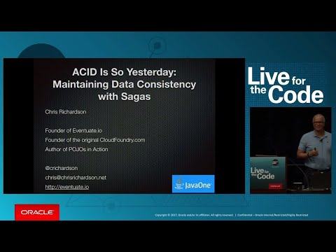 ACID Is So Yesterday: Maintaining Data Consistency with Sagas