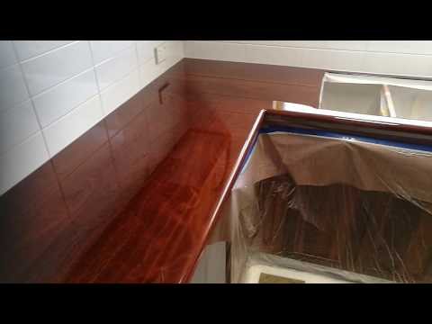 Epoxy Jarrah Bench Top
