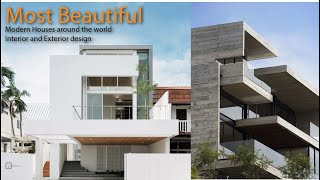 Most Beautiful Modern Houses Around The World/ Interior And Exterior Design.