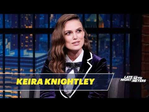 Keira Knightley's Prom Photo Was Banned from Her School