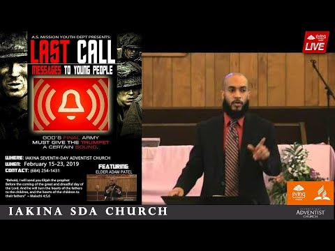 "Elder Adam Patel | ""All The Way"" - Last Call Messages to Young People - Night 1"