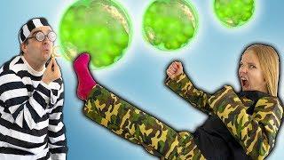 Amelia, Avelina and Akim magic soap bubble adventure