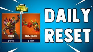 LEGENDARY WUKONG SKIN IS BACK - Fortnite Daily Reset & New Items in Item Shop
