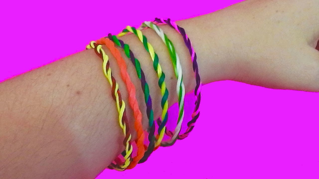 Diy Bracelets Easy With String How To Make Bracelets With Thread  Youtube