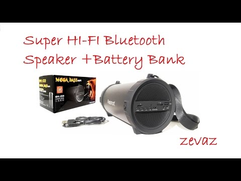 Unbox And Quick review of the Super HI-FI Bluetooth Speaker