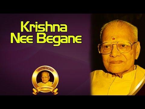 Krishna Nee Begane | K.V. Narayanaswamy | ( Album: Sangeeta Kalanidhi Vol 4 )