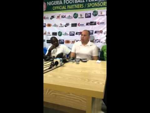 CHAN 2016 Qualifiers: Nigeria 2:0 Burkina Faso