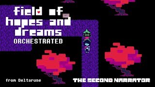 deltarune orchestrated field of hopes and dreams