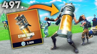 'NEW SKIN' STINK BOMB..?!! Fortnite Daily Best Moments Ep.497 (Fortnite Battle Royale Funny Moments)