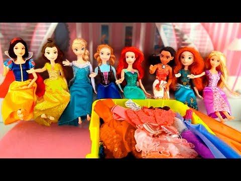 The Disney Princesses 💖 THE SECRET OF FAIRY FASHION