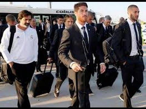 Real Madrid A Rabat وصول فريق ريال مدريد إلى العاصمة الرباط