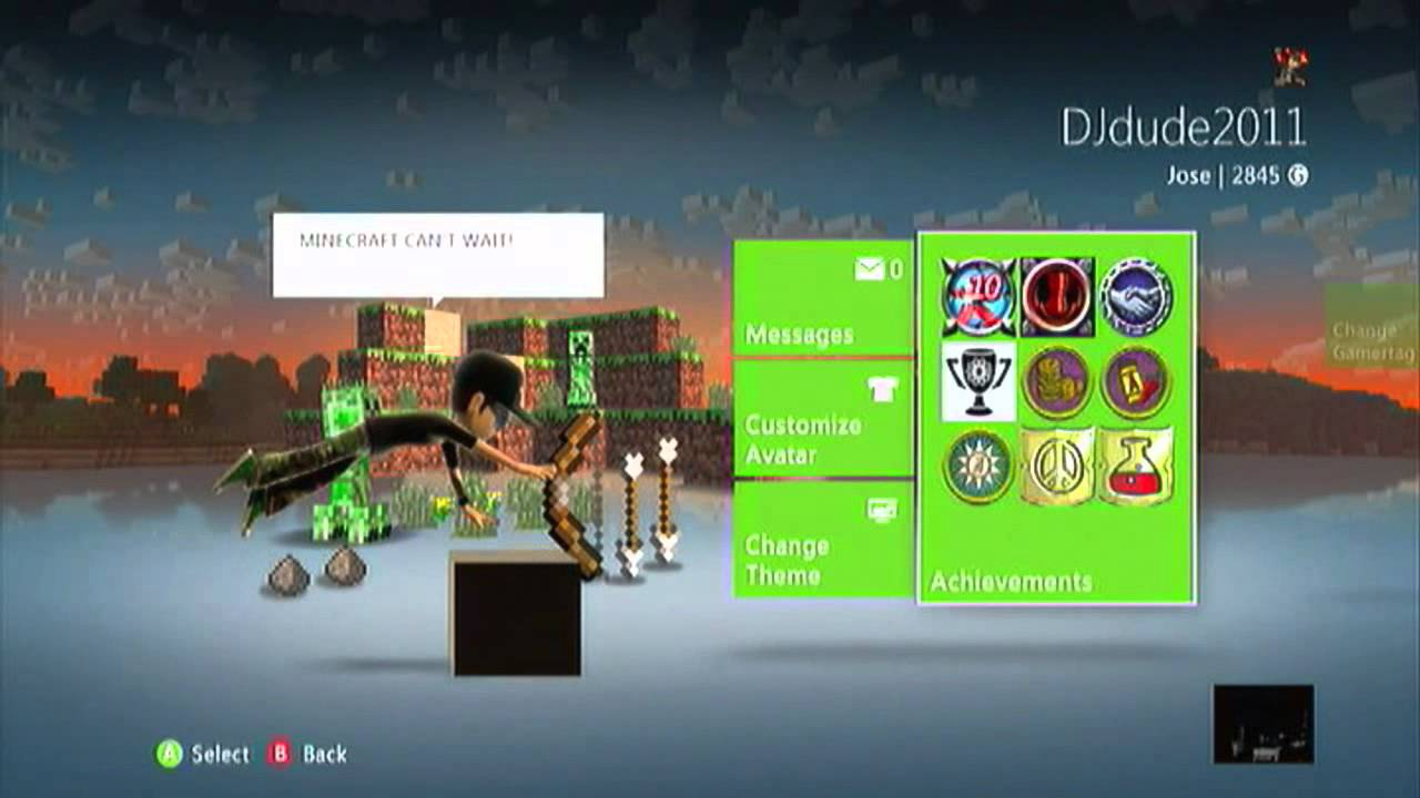 Minecraft Xbox 360 A Look At The Iron Theme