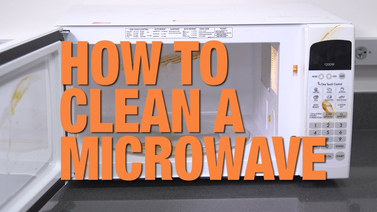 The Best Way To Clean A Microwave Consumer Reports