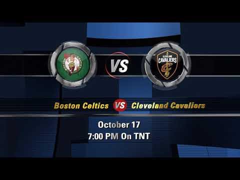 Opening Night!!! Boston Celtics Vs Cleveland Cavaliers Tonight On TNT !!!!!