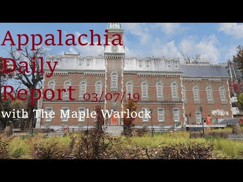 Appalachia Daily Report 03/07/19 with The Maple Warlock