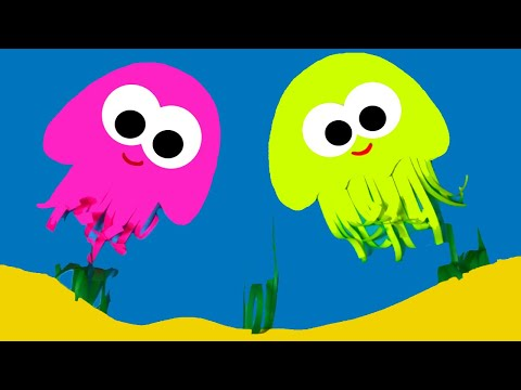 Объемная аппликация МЕДУЗЫ | Поделки с детьми  | Летние поделки | Application Of Jellyfish