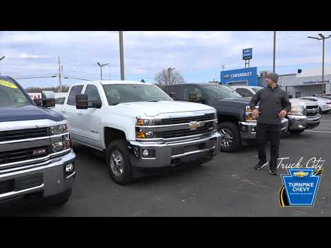 Certified Pre-Owned Chevrolet Trucks - Chevrolet Truck Dealer Reading, PA