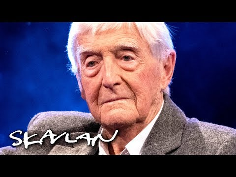 Sir Michael Parkinson On His Struggle With Alcohol: – My Wife Called Me Ugly | SVT/TV 2/Skavlan