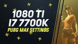 PUBG GTX 1080 Ti FTW3 i7 7700K Ultra Settings