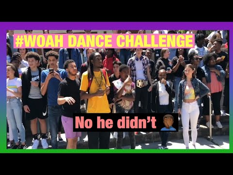 #WOAH DANCE CHALLENGE SCHOOL EDITION // (brought the whole school out)😱🤟🏽🕺🏼🤦🏾?♂️⚰️