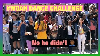 #WOAH DANCE CHALLENGE SCΗOOL EDITION // (brought the whole school out)😱🤟🏽🕺🏼🤦🏾♂️⚰️