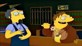 Homer Banned From Moe's - The Simpsons