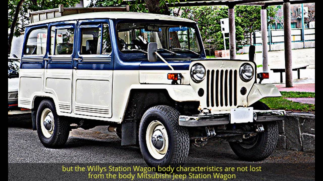 Willys Jeep Station Wagon - The World 's 1st SUV
