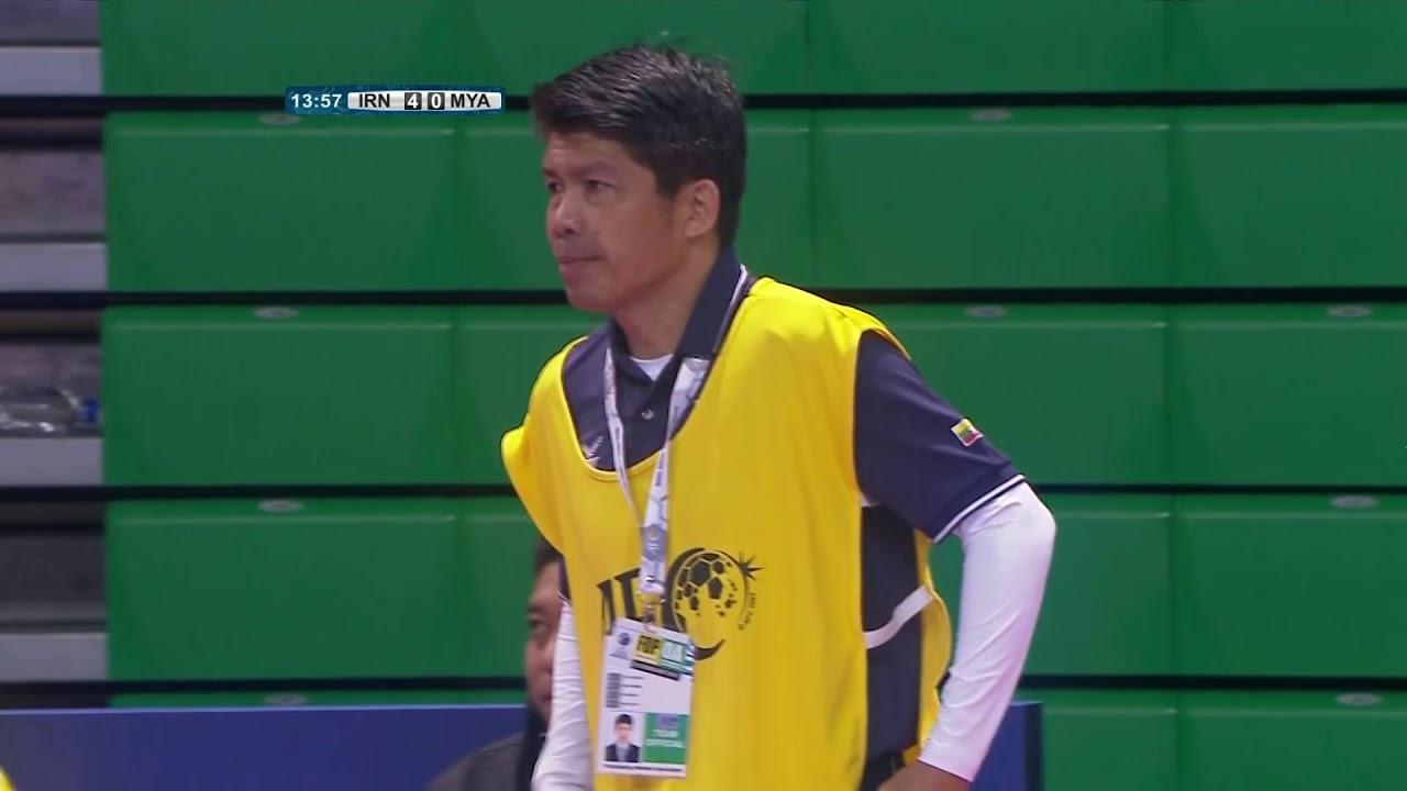 Video: Futsal Iran vs Futsal Myanmar