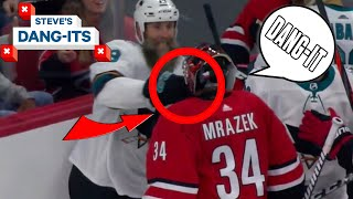 NHL Worst Plays Of The Week: Goalie PUNCH!   Steve's Dang-Its