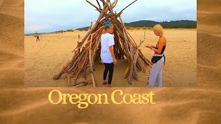 Hot Beach blondes walking the Oregon Coast