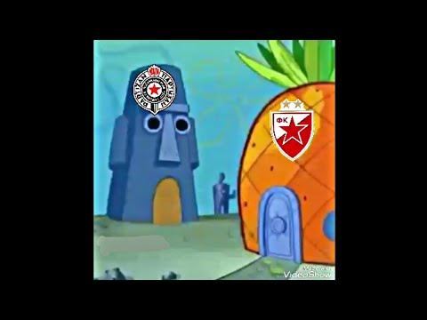 SUNDJER BOB - Parodija Partizan vs Crvena Zvezda