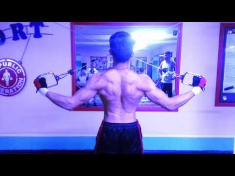 Man physic  Natural bodybuilders