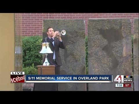9/11 memorial ceremony in Overland Park