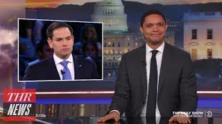 Marco Rubio's Performance at CNN's Town Hall Mocked by Late-Night Hosts | THR News