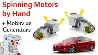Can Spinning a Motor by Hand Cause Damage? - PLUS Using Motors as Generators!