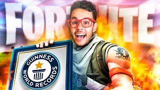 REACCIONANDO al WORLD RECORD de Fortnite - TheGrefg