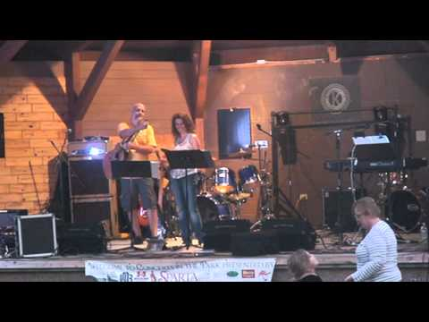 Mark and Janet Hanson - Jazz Duo @ Sparta WI Concert in the Park - Dana Tock and Friends