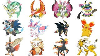 Pokemon Fusions/Evolutions/Mega Evolutions Compilation Week #2