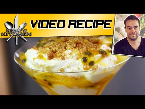 Mango, Passionfruit & Coconut Crunch | Nicko's Kitchen