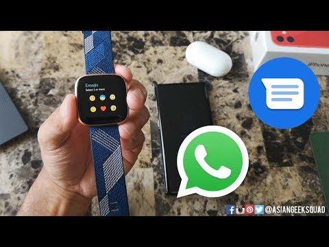 fitbit-versa-2---day-4---phone-calls,-messaging-(sms,-whatsapp)