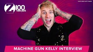 Machine Gun Kelly On Working With James Arthur | Interview