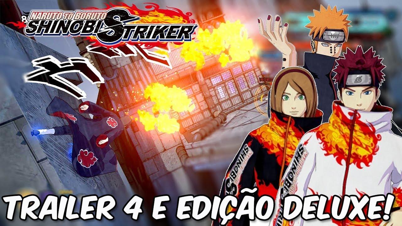 Naruto to boruto shinobi striker deluxe edition vs standard