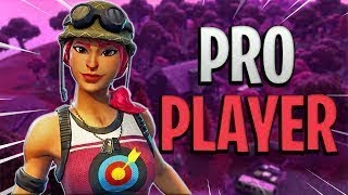 25 Kill Win Solo Squads With the Bullseye Skin! - Fortnite